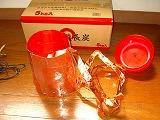筒状にした軟質樹脂の内側に銅箔テープを貼る