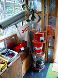 工具その2:自作サイクロン集塵機