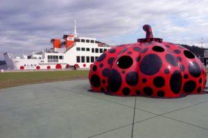 大きな赤南瓜