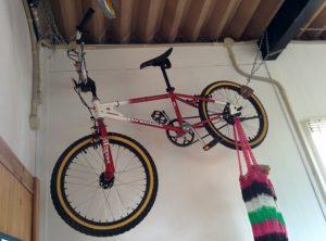 映画ETに登場した自転車